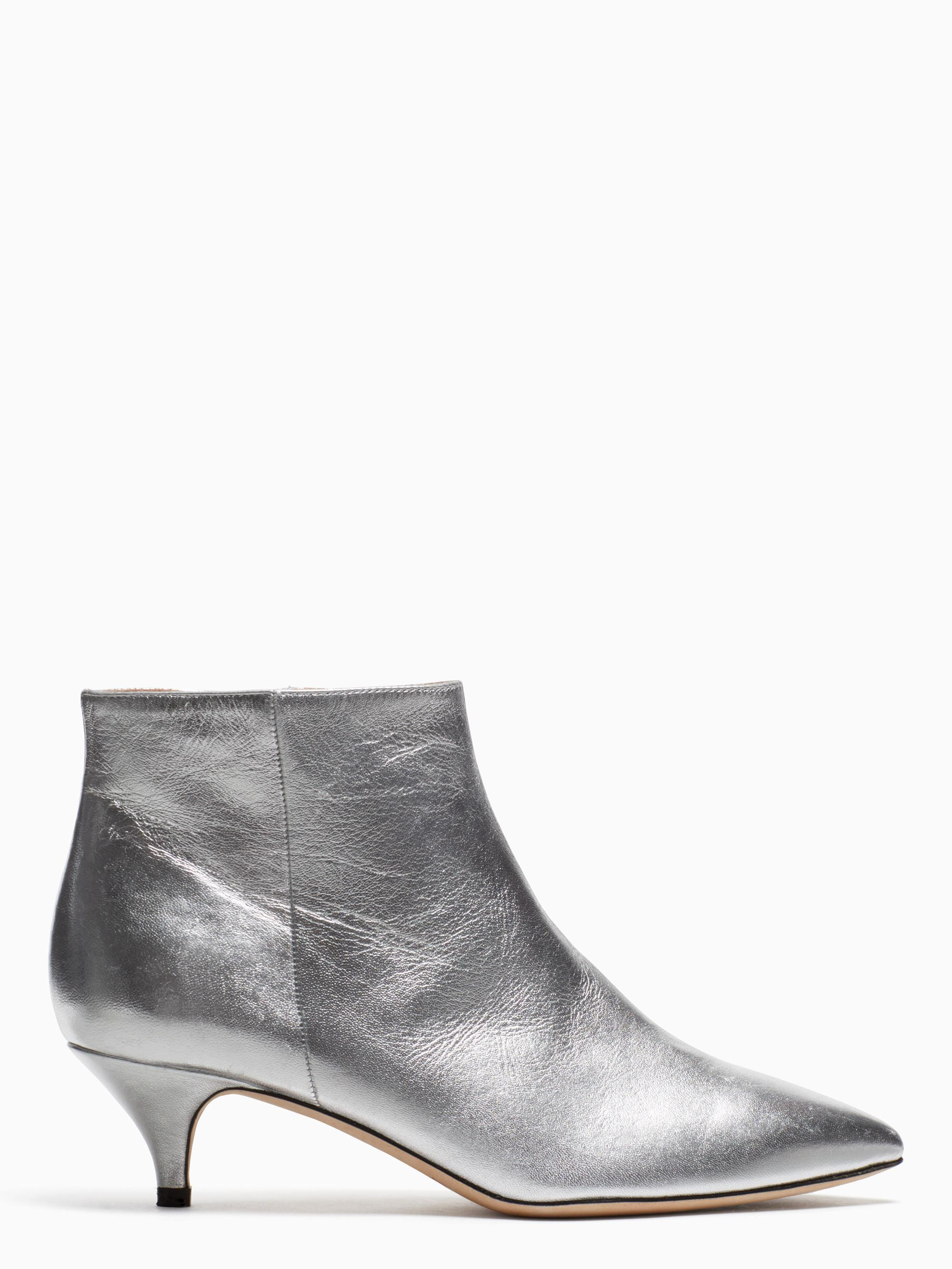 f209d97c5adf Lyst - Kate Spade Olly Boots in Metallic