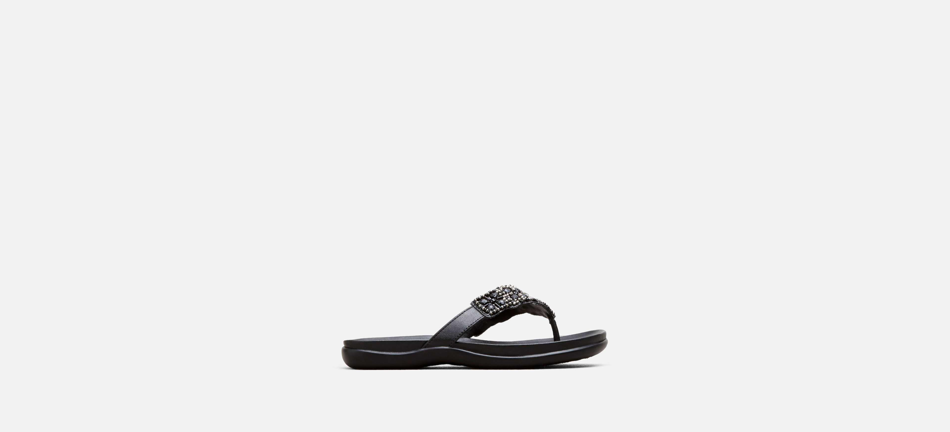 afdbf3b9ad40f8 Lyst - Kenneth Cole Reaction Glam-athon Beaded Sandal in Black