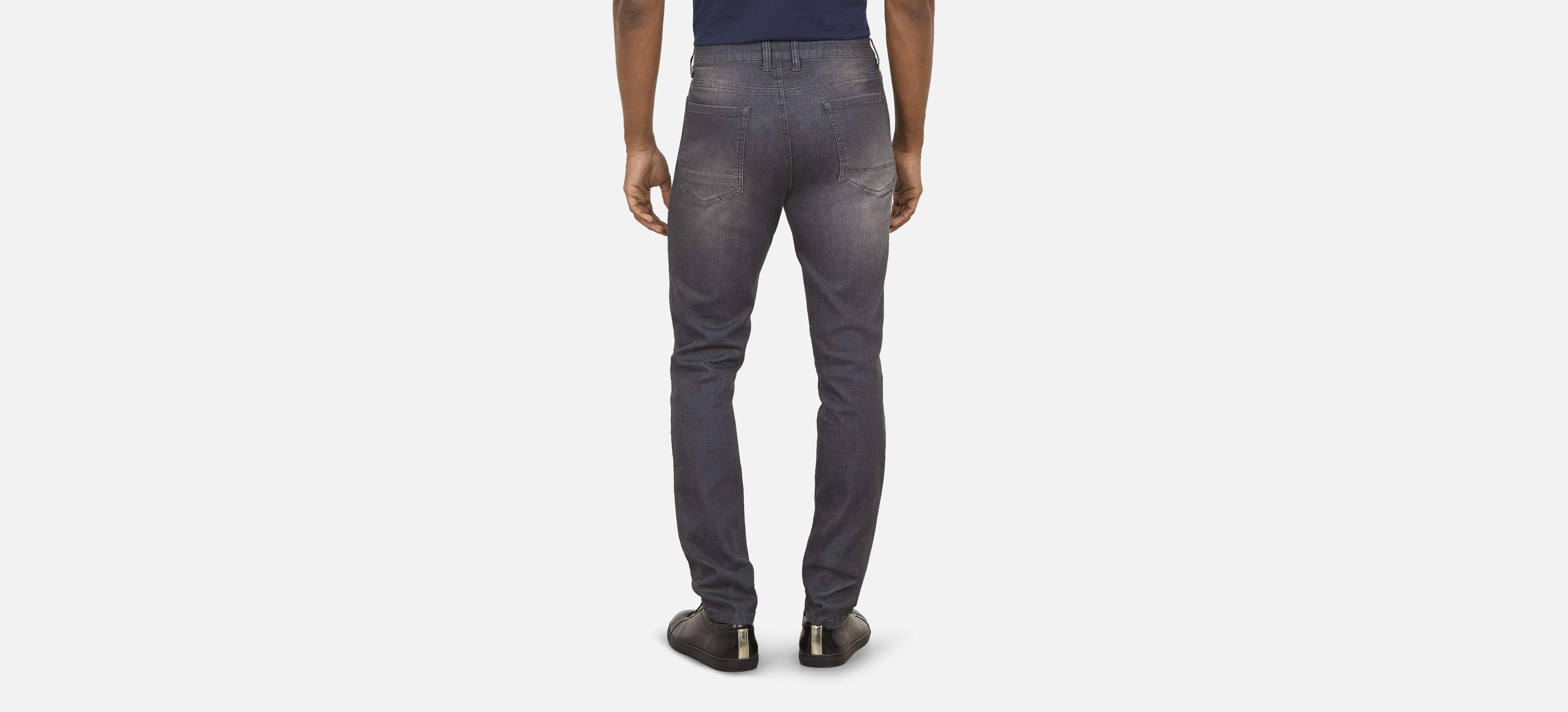 ca15ca4bfd Kenneth Cole - Gray Slim Stretch Flex Jeans for Men - Lyst. View fullscreen
