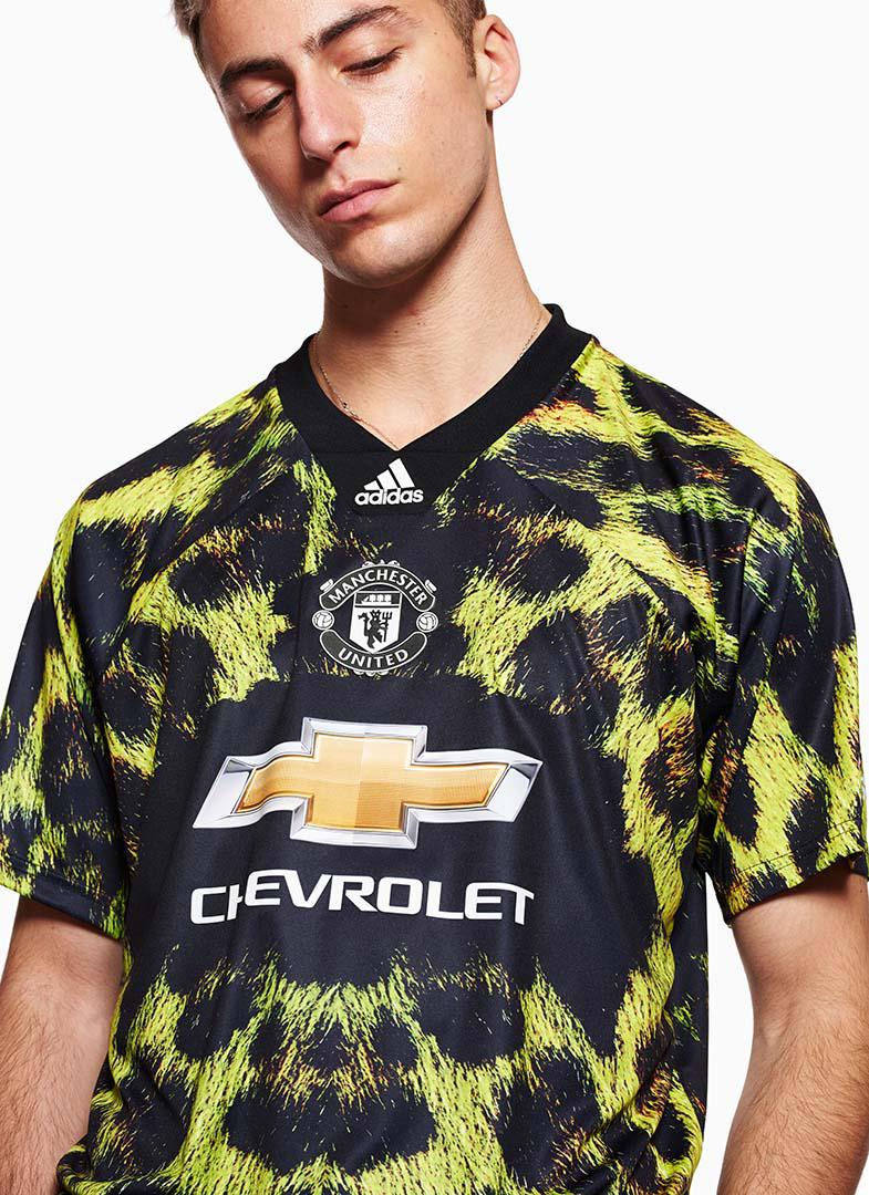 74777d112a5 Adidas - Multicolor Manchester United Ea Jersey for Men - Lyst. View  fullscreen