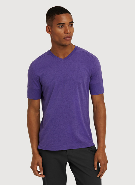 Kit And Ace V Tee 2 in Purple for Men