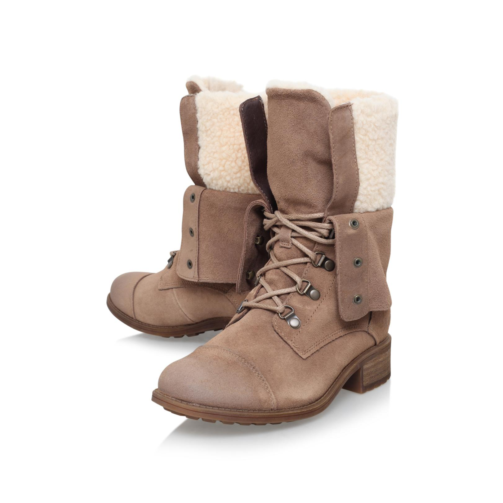 c9790aee9d5 Ugg Gradin Flat Calf Boots in Brown - Lyst