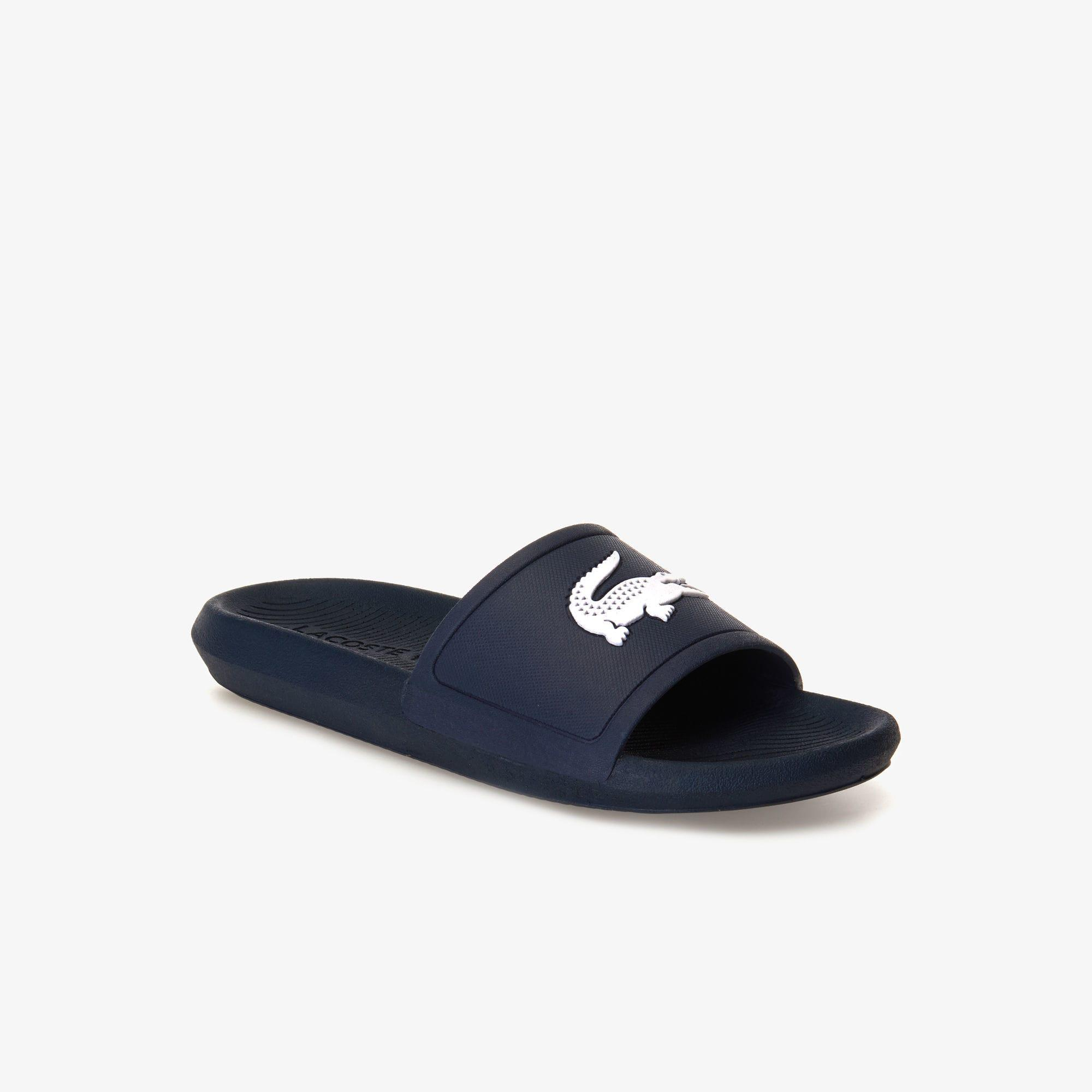 4f27e19f9 Lyst - Lacoste Women s Croco 119 1 Cfa Sliders Blue in Blue