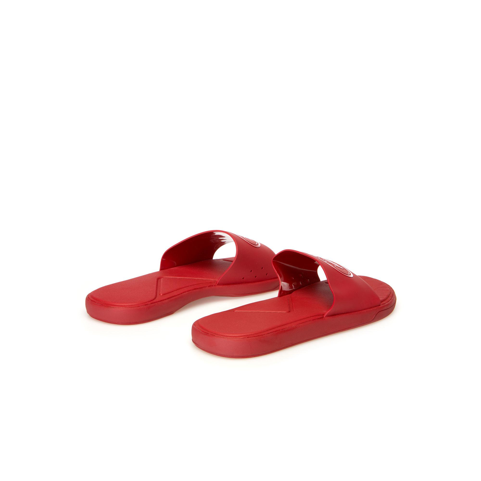58bec0f819d7dc Lyst - Lacoste L.30 Synthetic Slides in Red for Men