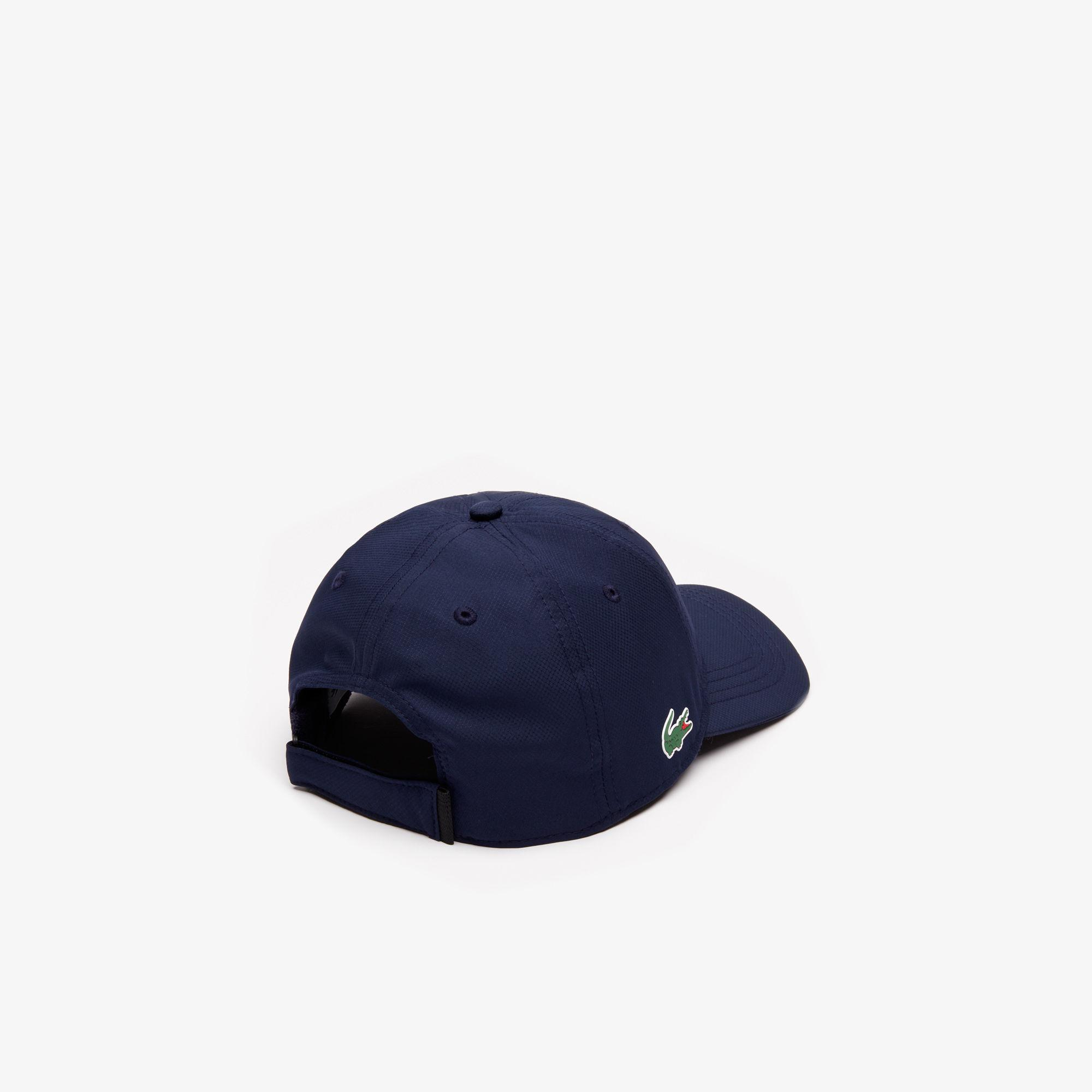 f7b72968785 Lacoste - Blue Sport Taffeta Cap for Men - Lyst. View fullscreen