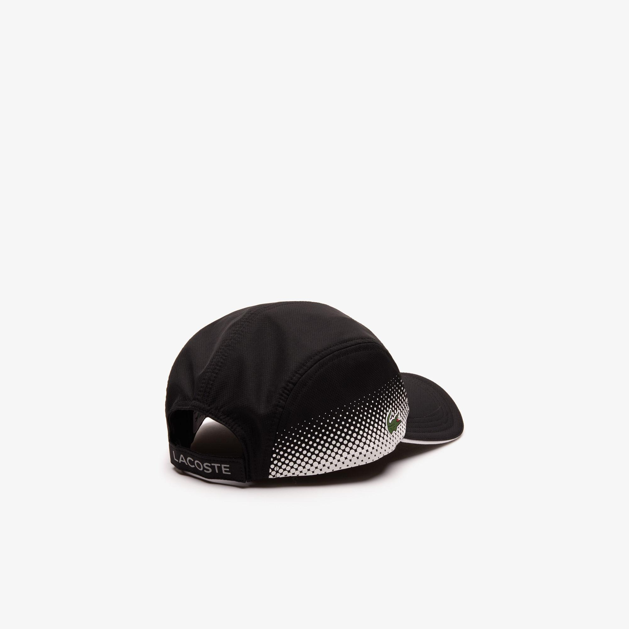 41be7ca01b2 Lyst - Lacoste Sport Breathable Tennis Cap in Black for Men