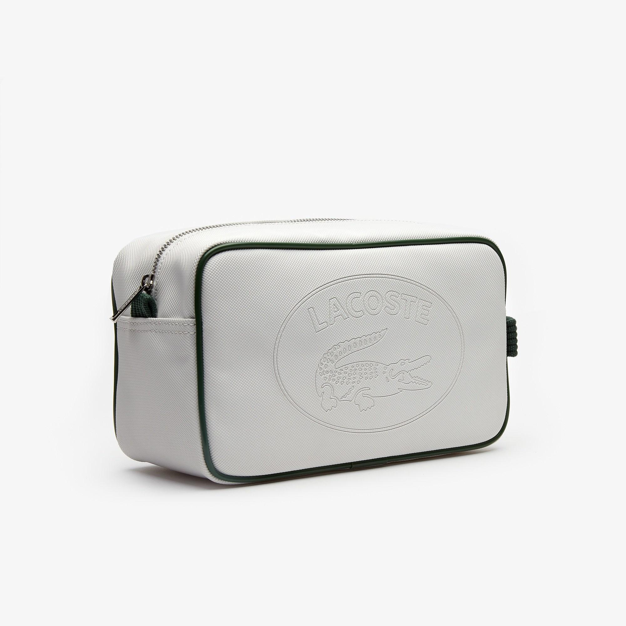 88925a8b1f9 Lacoste - White 1930's Original Embossed Lettering Toiletry Kit for Men -  Lyst. View fullscreen