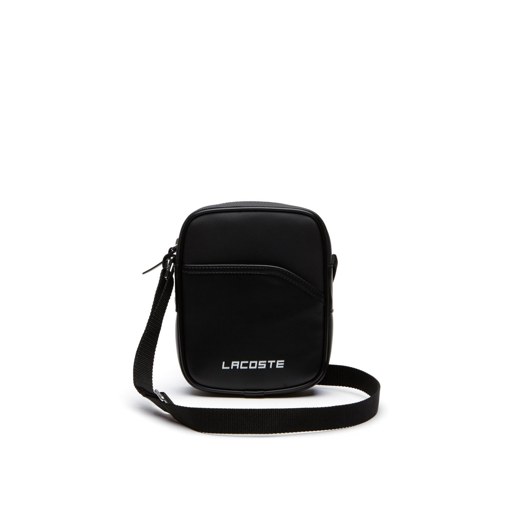 37d26387a0d4 Lacoste - Black Sport Vertical Canvas Bag for Men - Lyst. View fullscreen