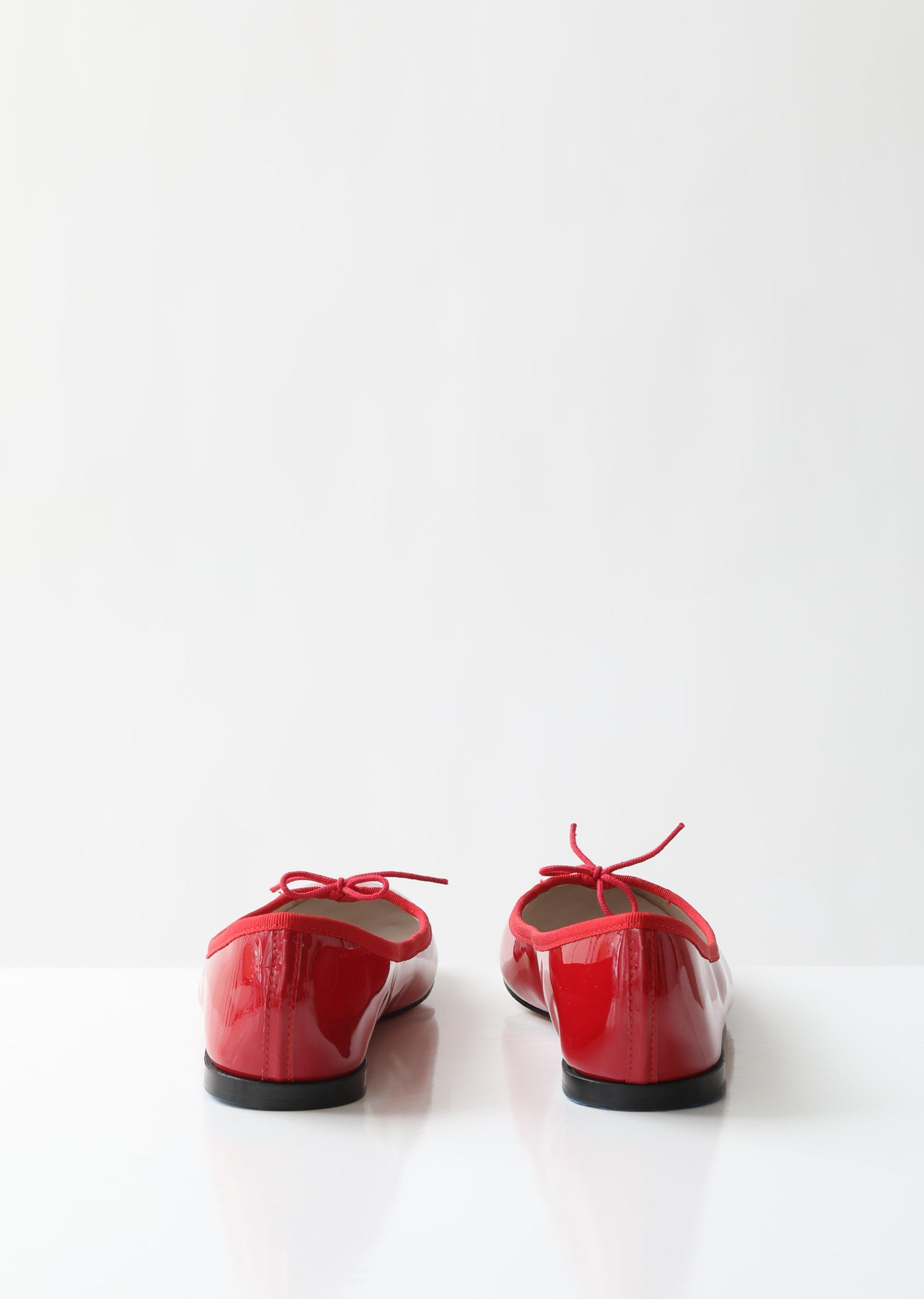 f6aa2481c5f34 Repetto - Red Cendrillon Ballerina Flats - Lyst. View fullscreen