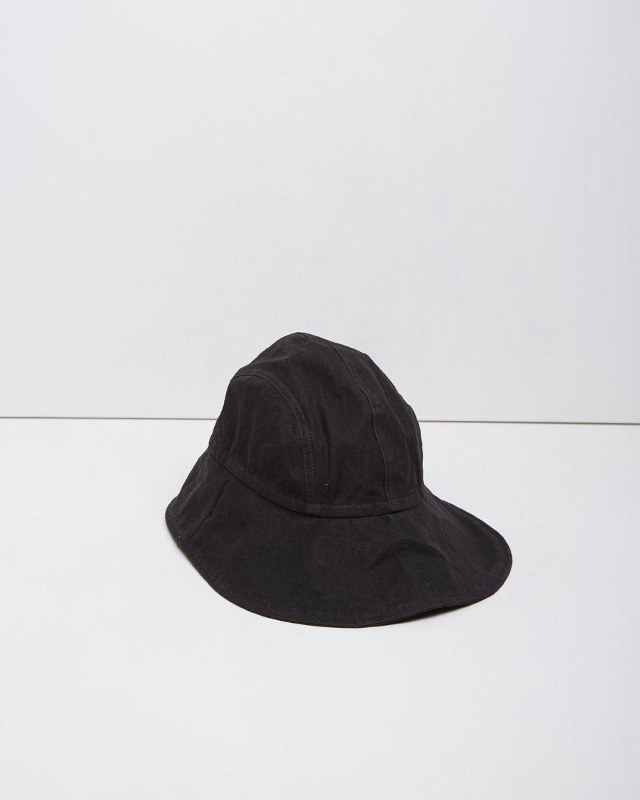 ab912321a5e Lyst - MHL by Margaret Howell Sou Wester Hat in Black