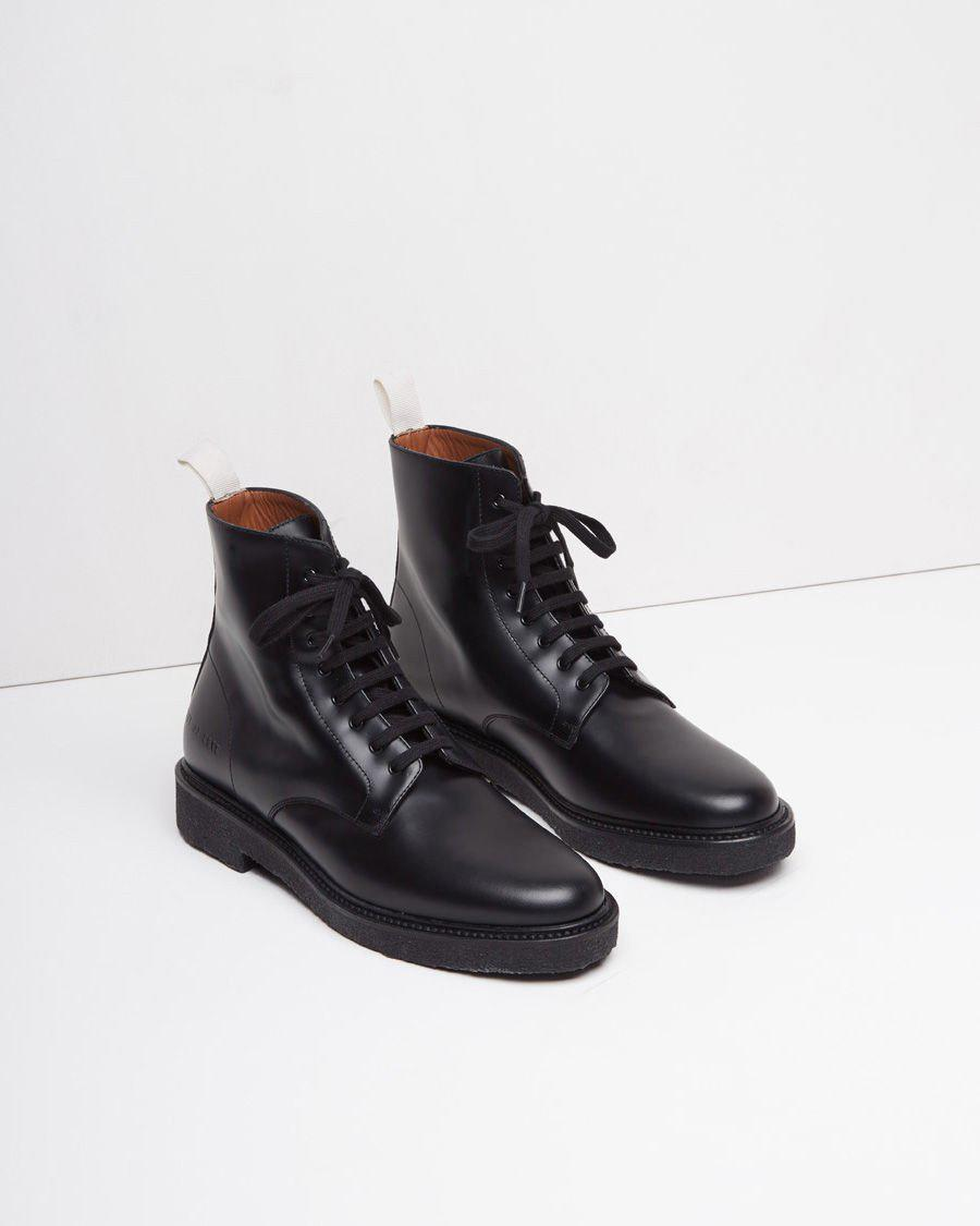 56ee7a8f072e Lyst - Common Projects Standard Combat Boot in Black for Men
