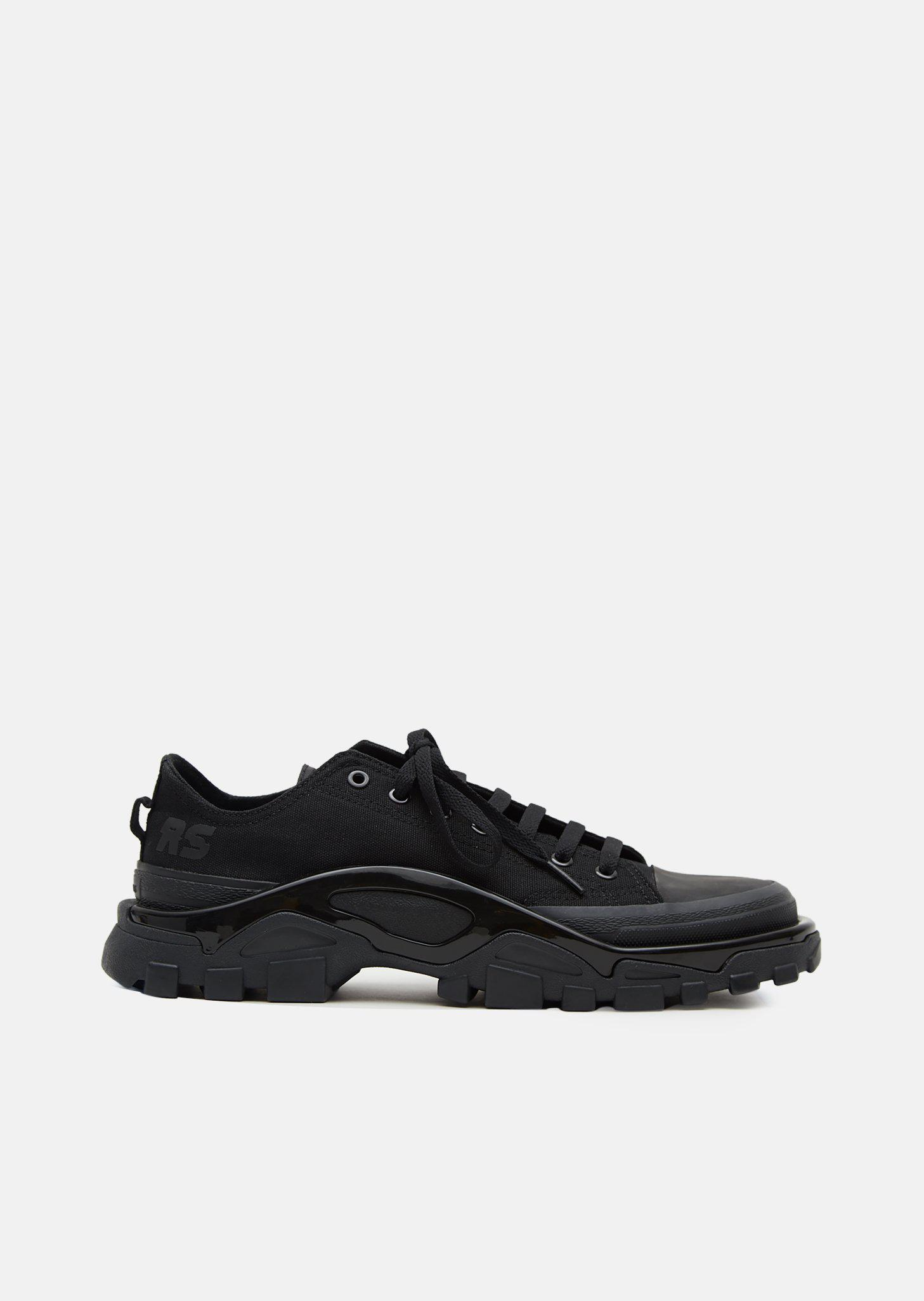 Lyst - adidas By Raf Simons Rs Detroit Runner Sneakers in Black 00a8f3912