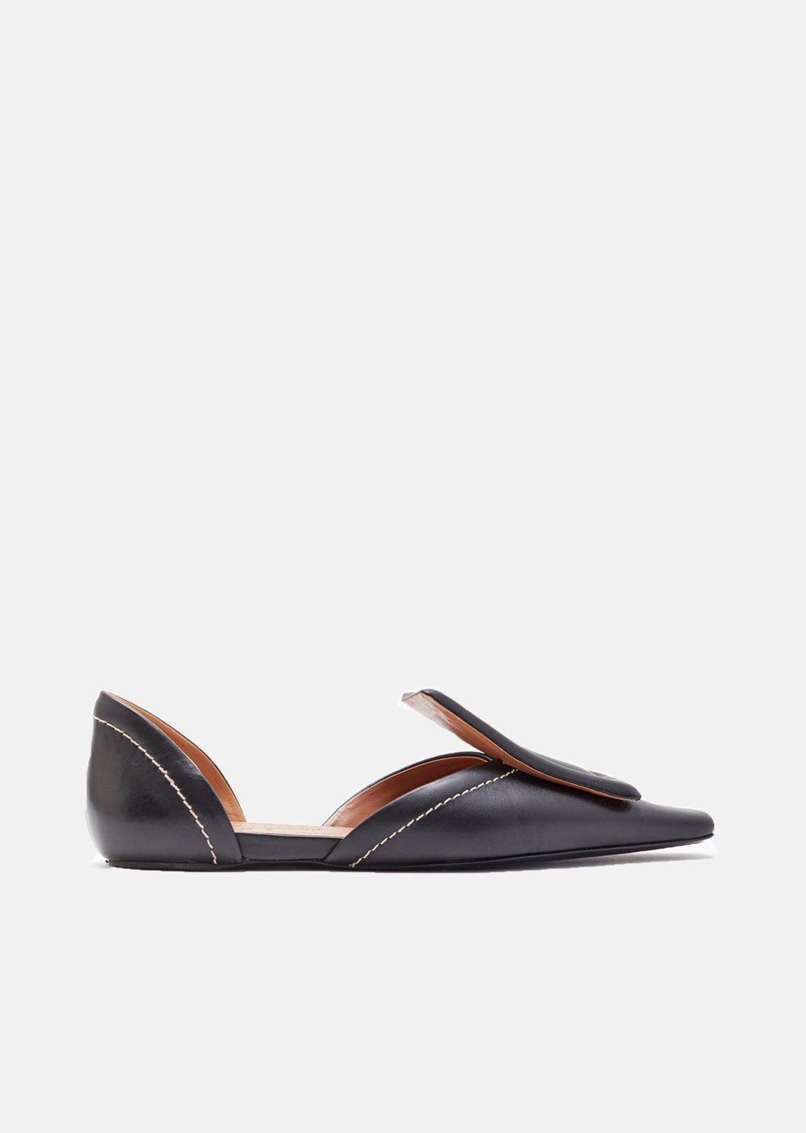 exclusive cheap price sale excellent Marni Leather d'Orsay Flats cheap sale official site discount get to buy many kinds of yUU8uze0z