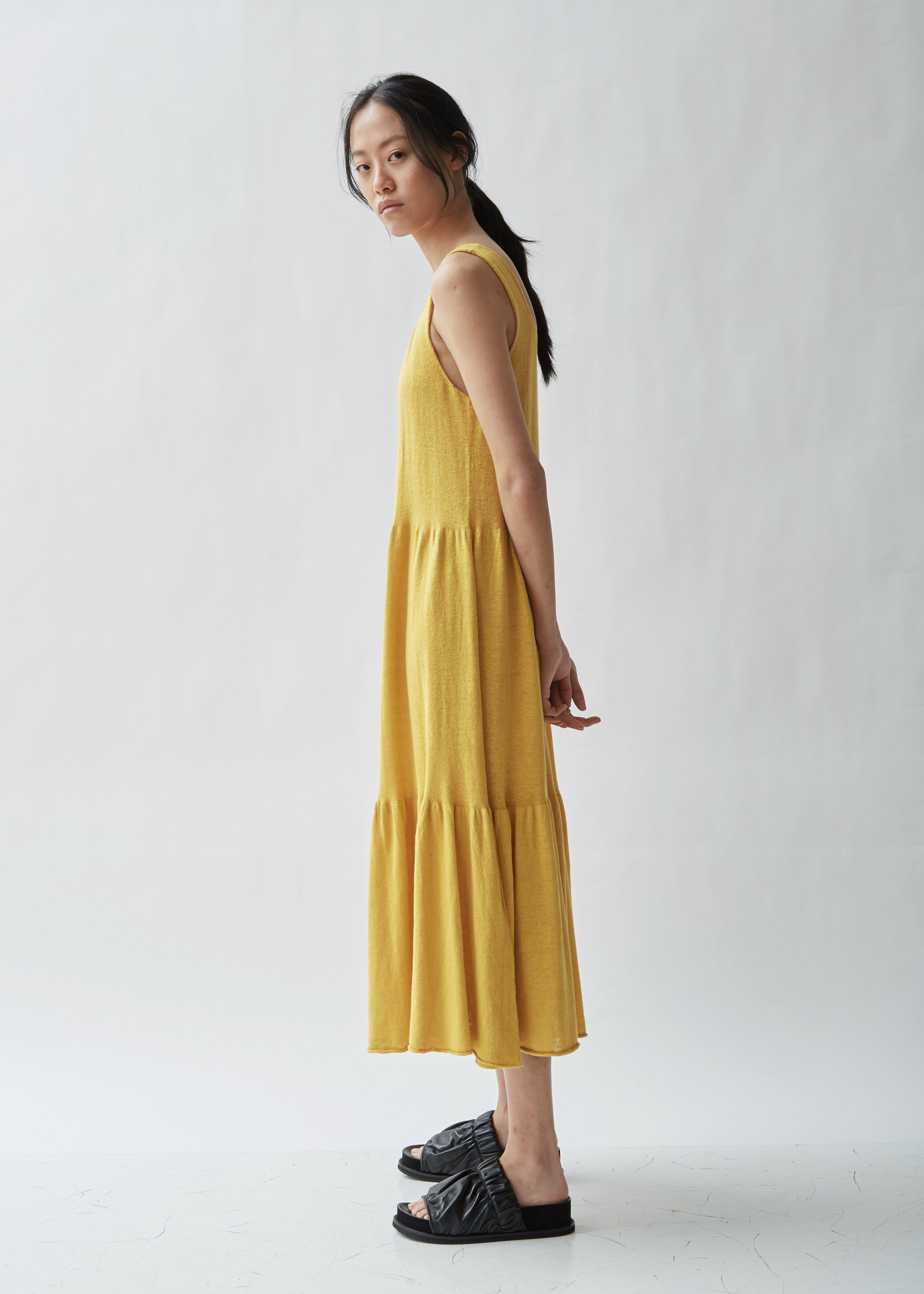 c29f0dc128 Lyst - Lauren Manoogian Tier Sleeveless Dress