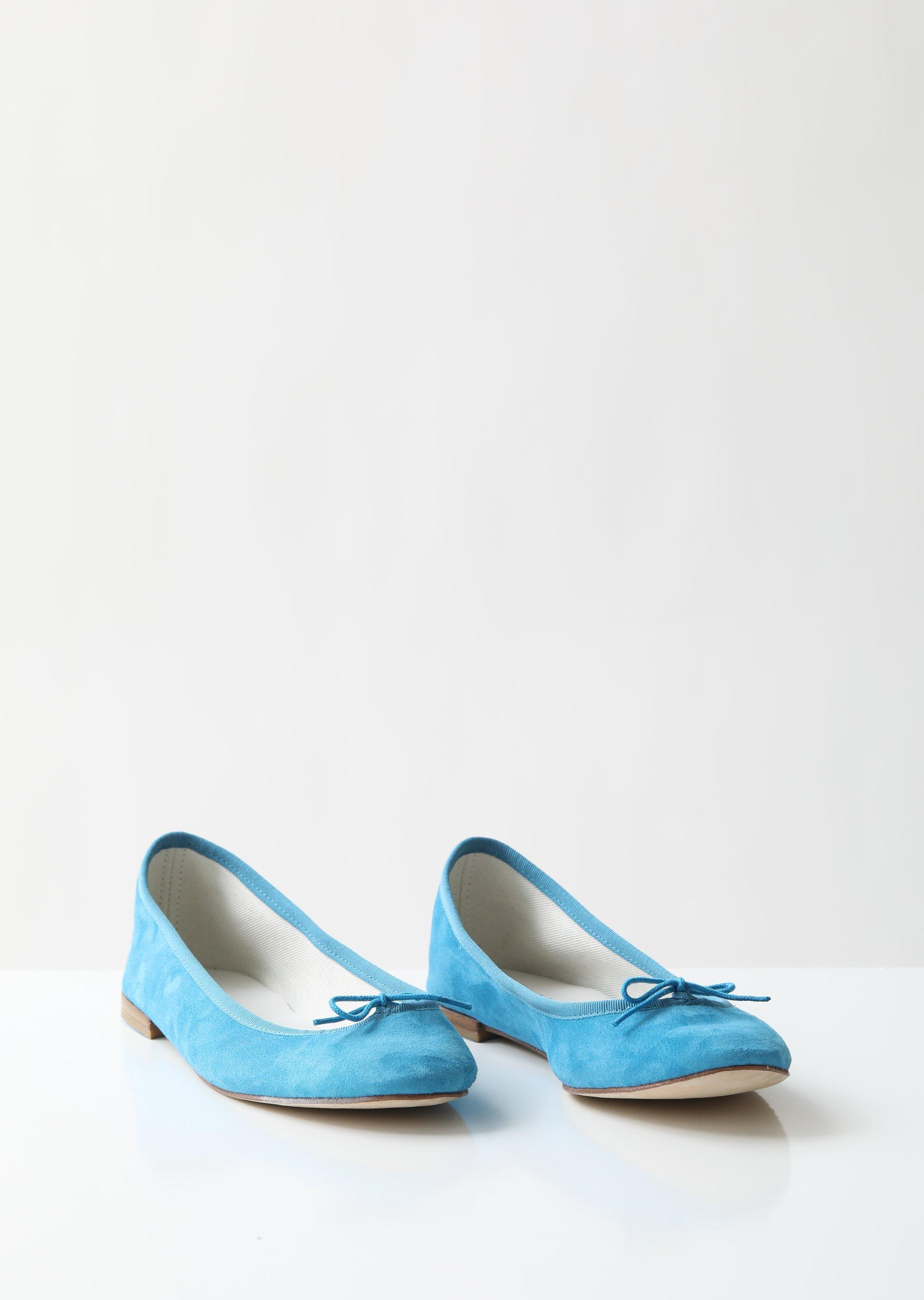 926343c1158d Repetto - Blue Cendrillon Ballerina Flats - Lyst. View fullscreen