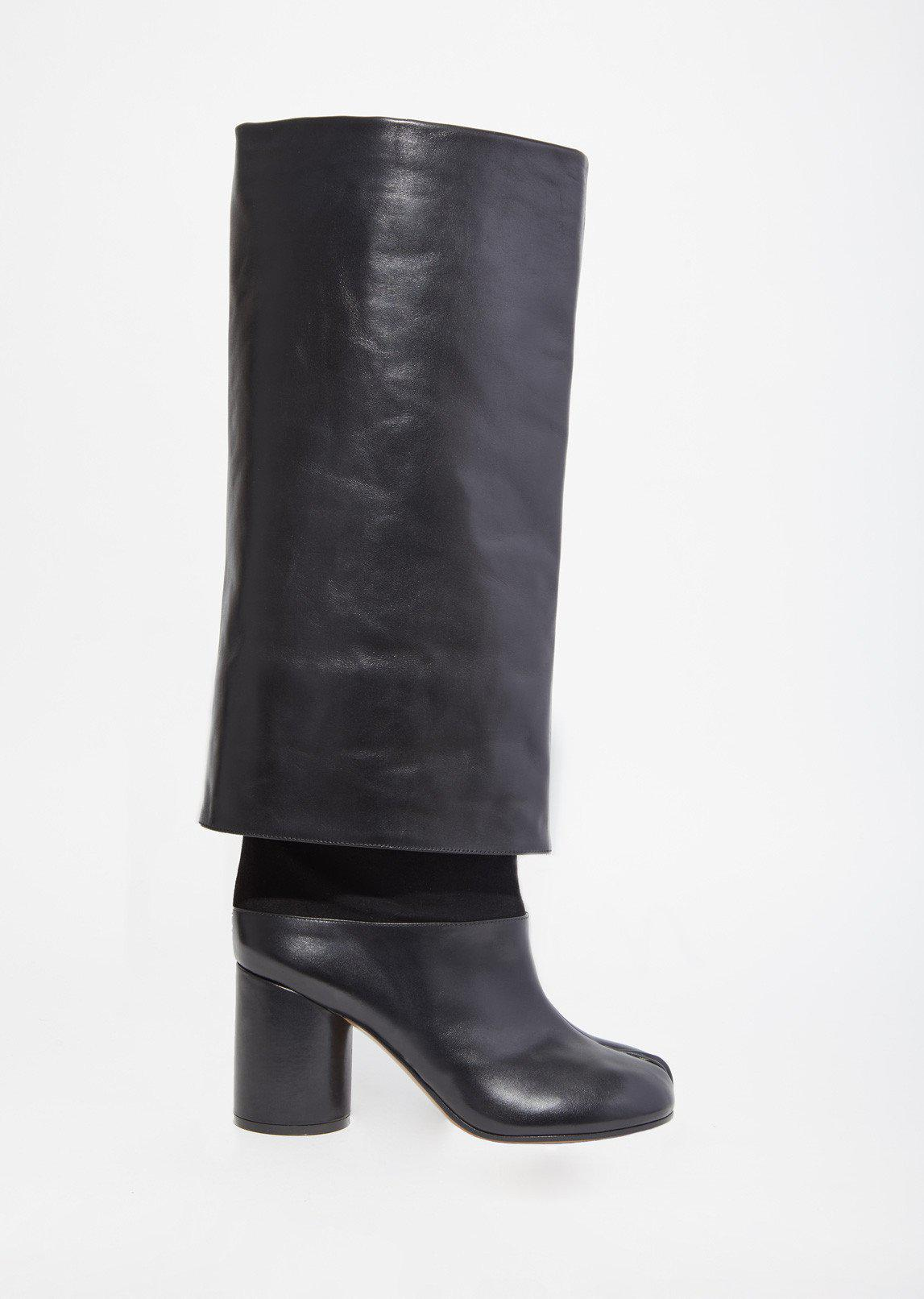 tall Mex boots - Black Maison Martin Margiela Outlet Discounts sDhMa2