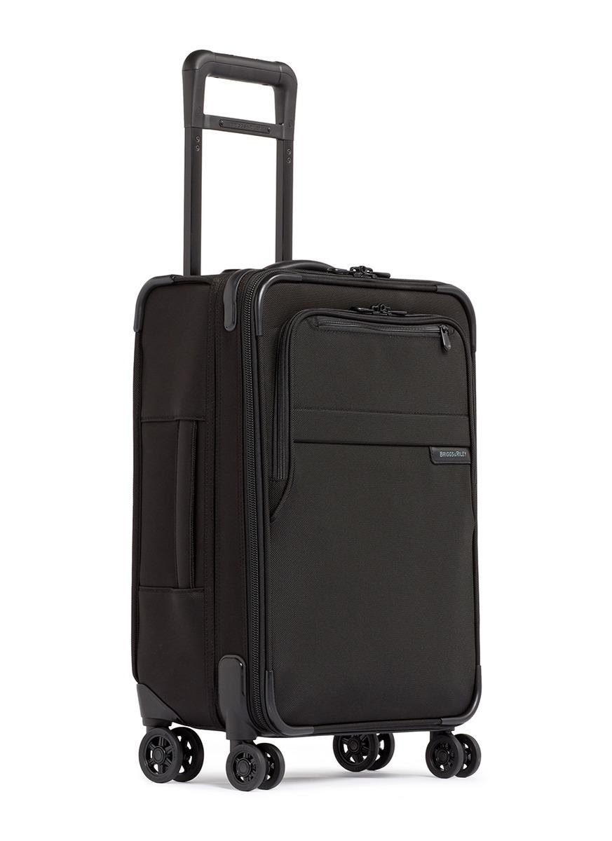 f2eff5fc2bf7 Briggs   Riley - Black Baseline Carry-on Expandable Spinner Suitcase -  Lyst. View fullscreen