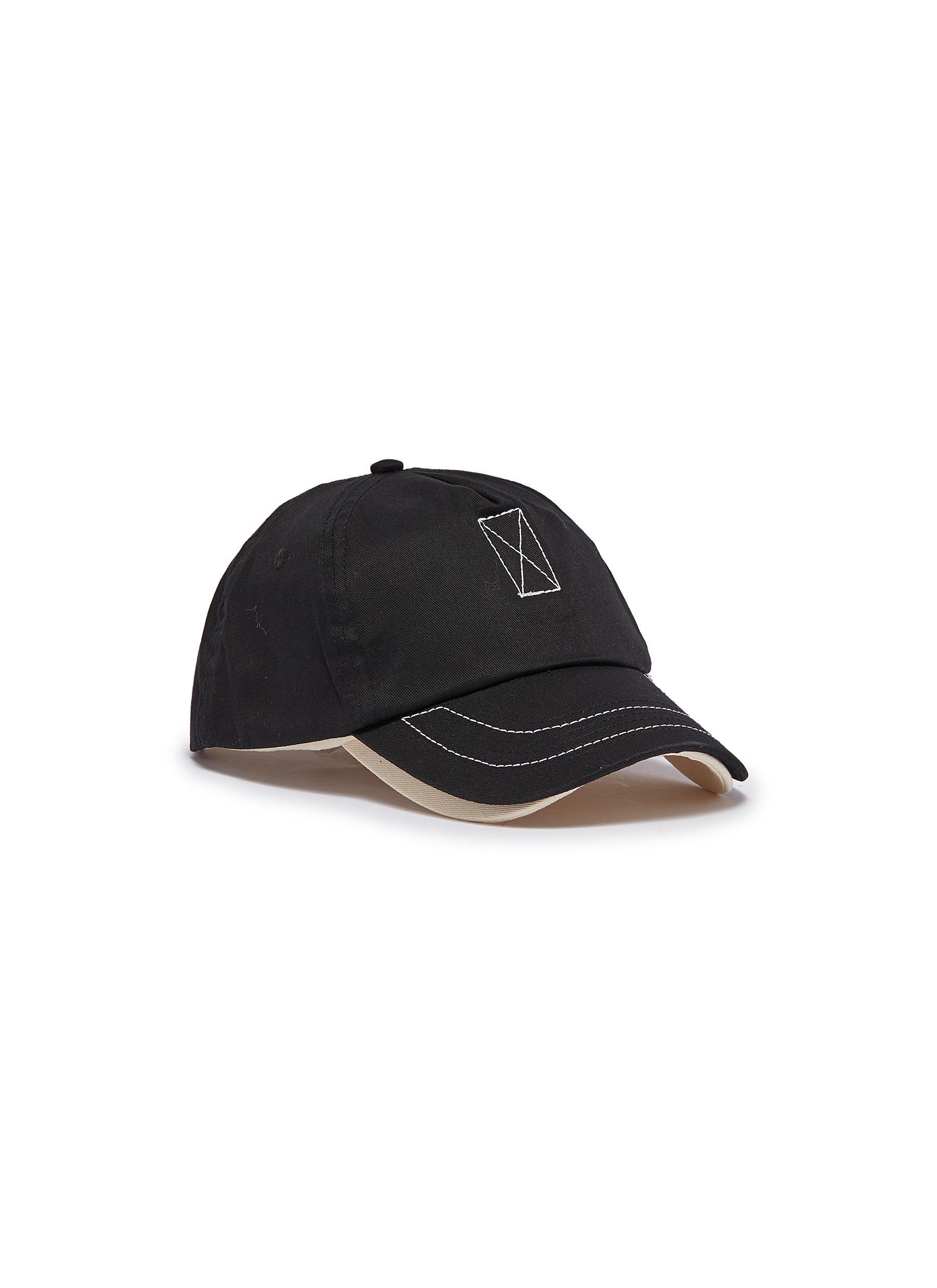 fa56d02afd2 Lyst - Bernstock Speirs Detachable Visor Layered Baseball Cap in Black