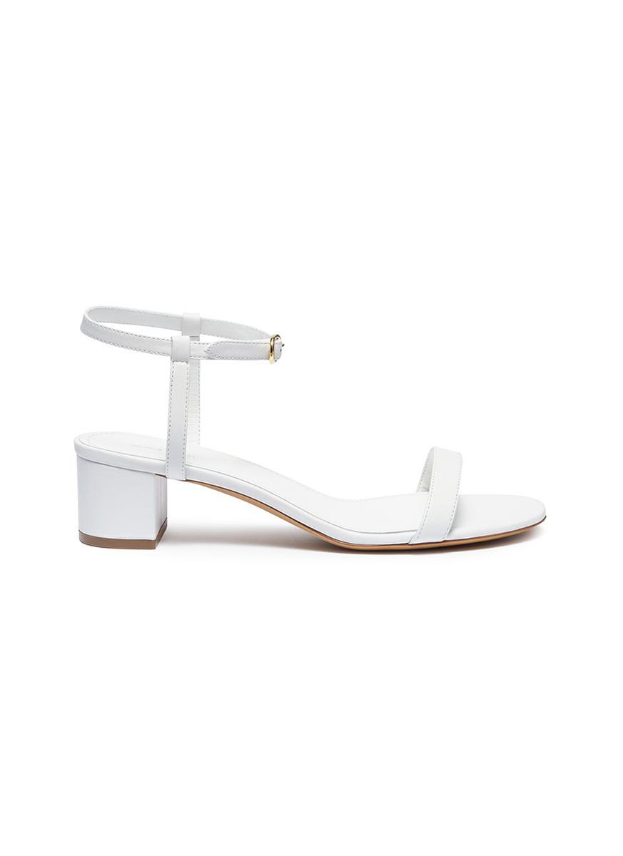 Plant leather sandals Mansur Gavriel 0SSJ2EVz