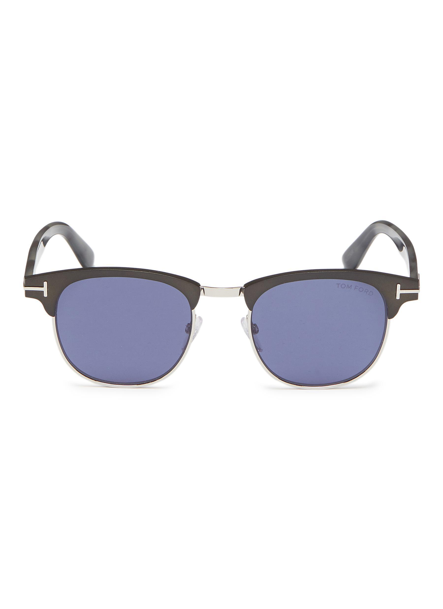 bc89941123a Gallery. Previously sold at  Lane Crawford · Men s Acetate Sunglasses ...