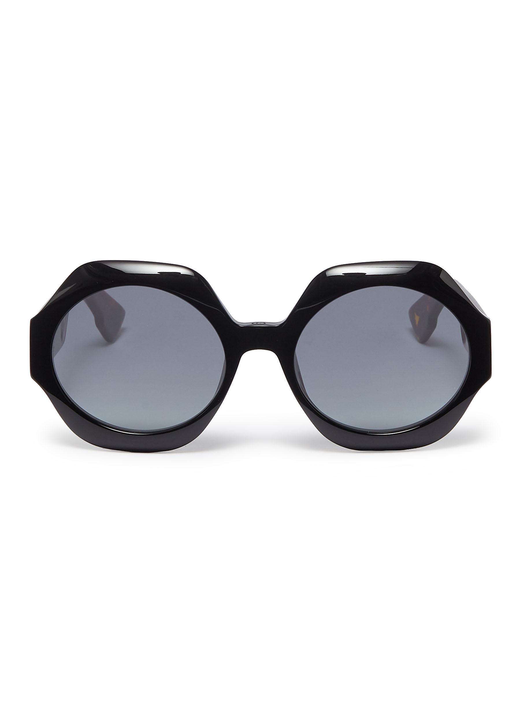 b70f527582 Lyst - Dior   Spirit 1  Octagon Frame Acetate Sunglasses for Men