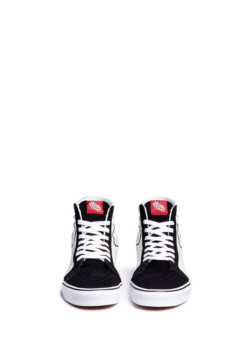 d9b80d9351 Lyst - Vans X Peanuts  sk8-hi Reissue  Joe Cool Print Sneakers