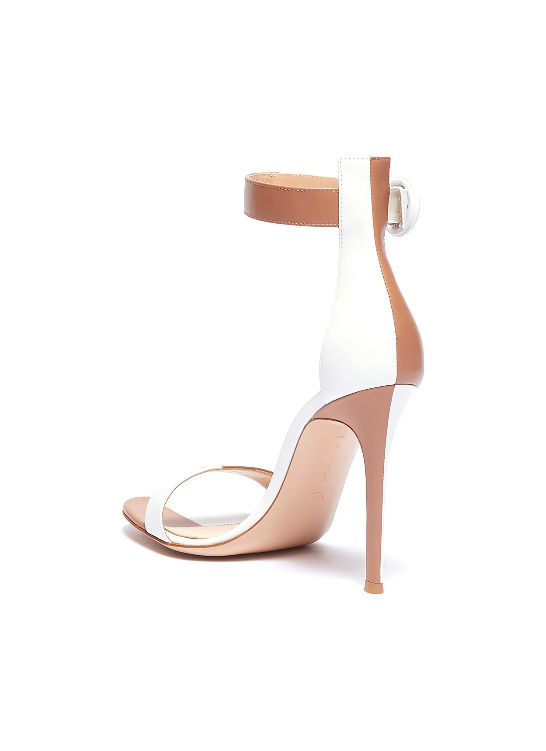 c3e77508d70 Gianvito Rossi - Multicolor  dama  Colourblock Ankle Strap Leather Sandals  for Men - Lyst. View fullscreen