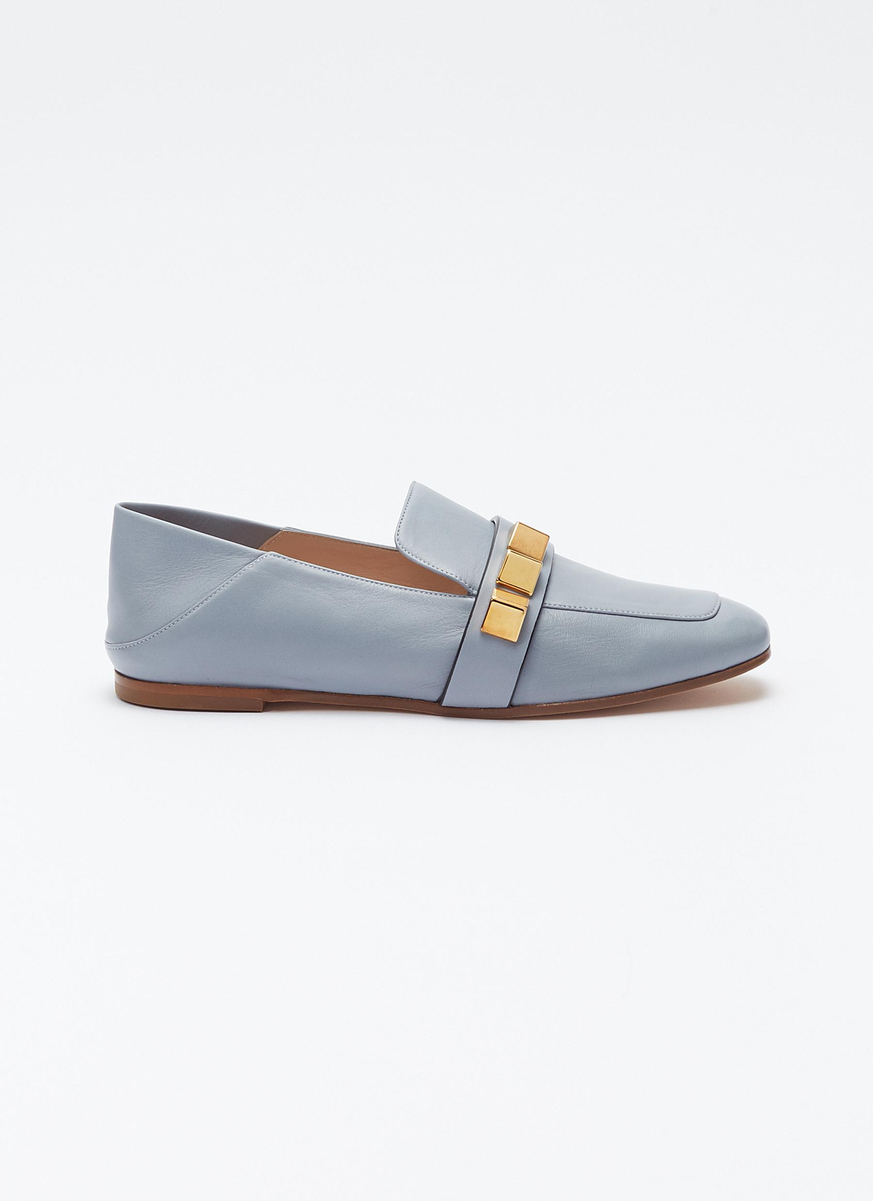 Loafers Blue Pyramid' Leather In Stuart Stud Weitzman Step 'wylie VGSMLqUpjz
