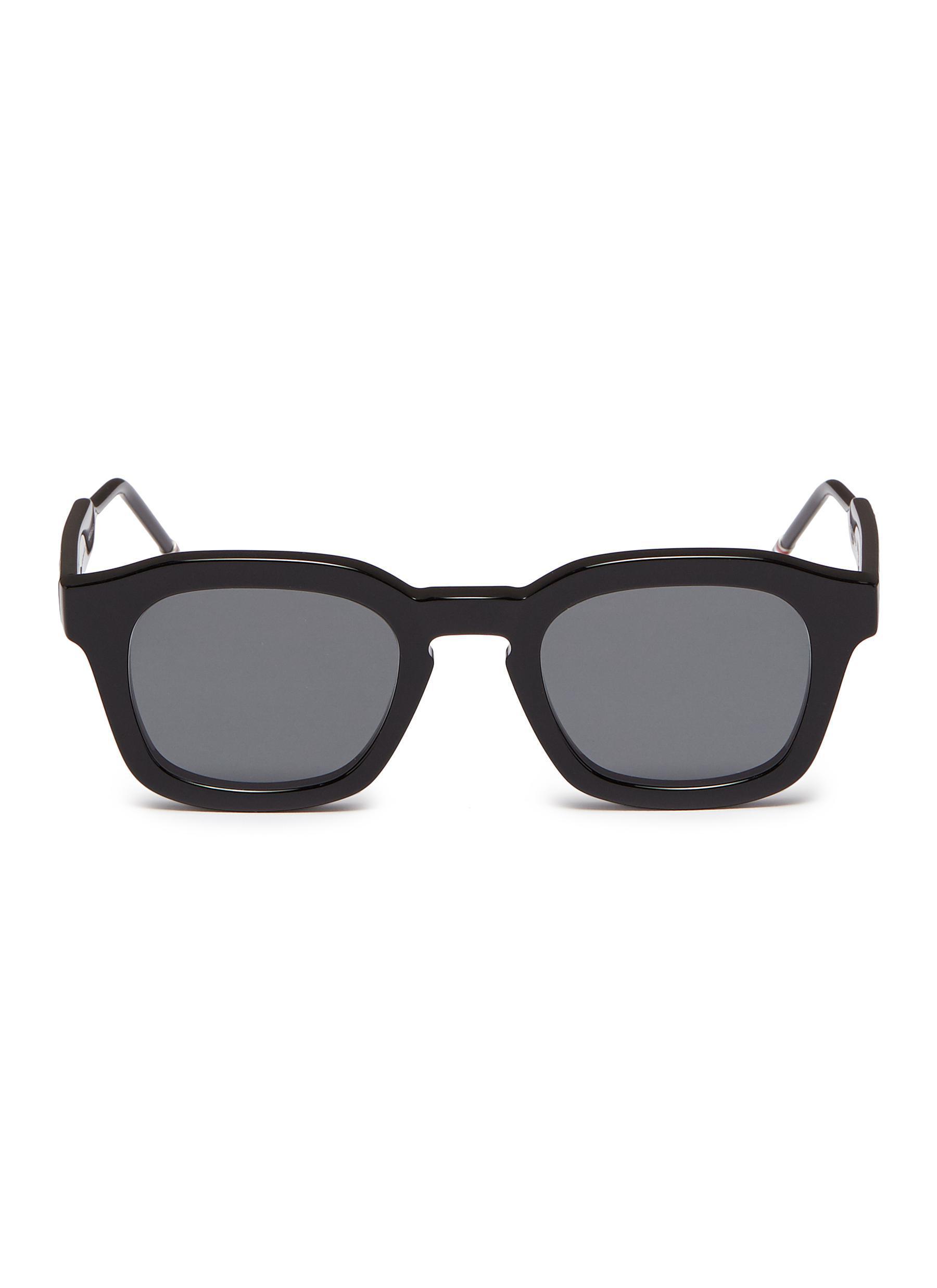 e184d28fee0d2 Lyst - Thom Browne Acetate Square Sunglasses in Black for Men