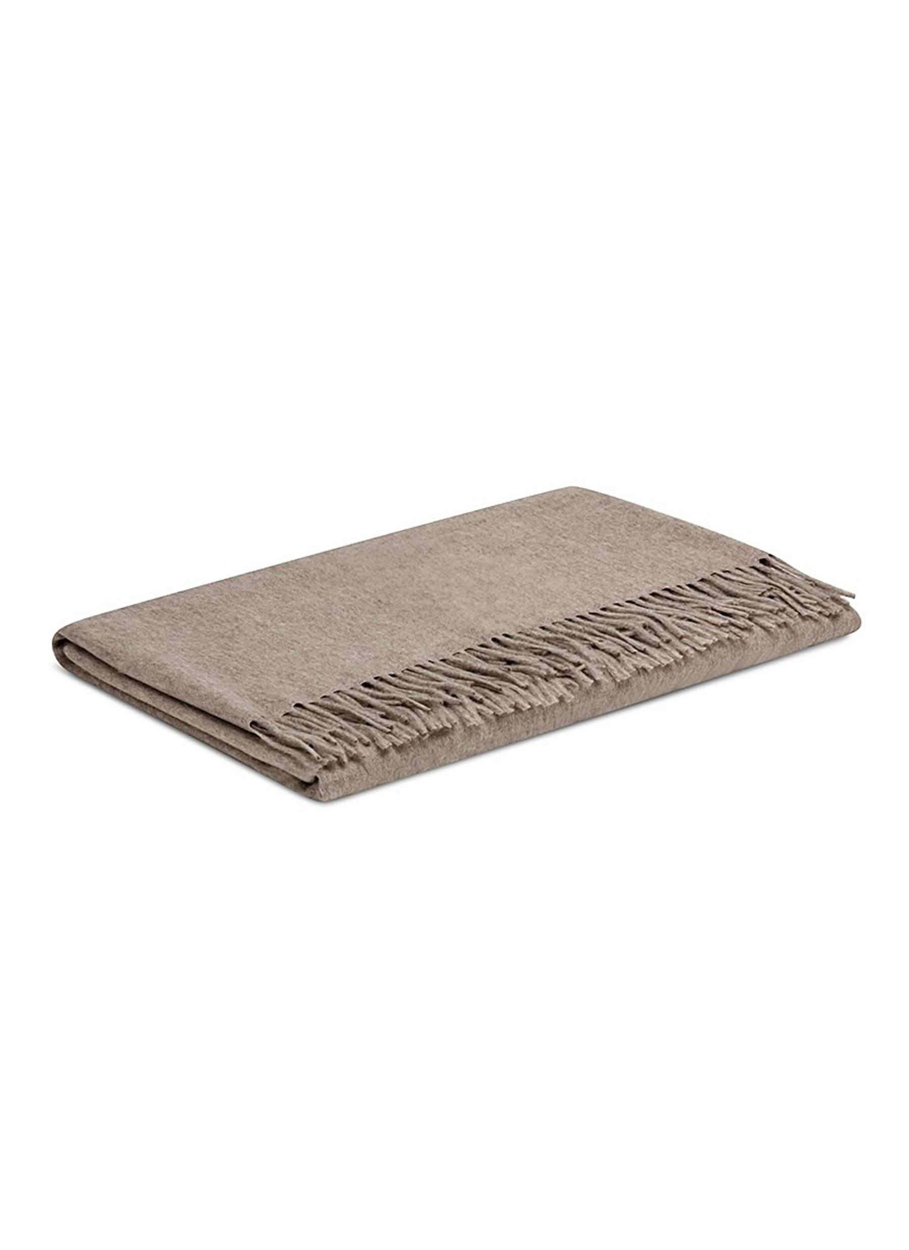 2a71653f36746 Frette Bliss Cashmere Throw in Natural - Lyst