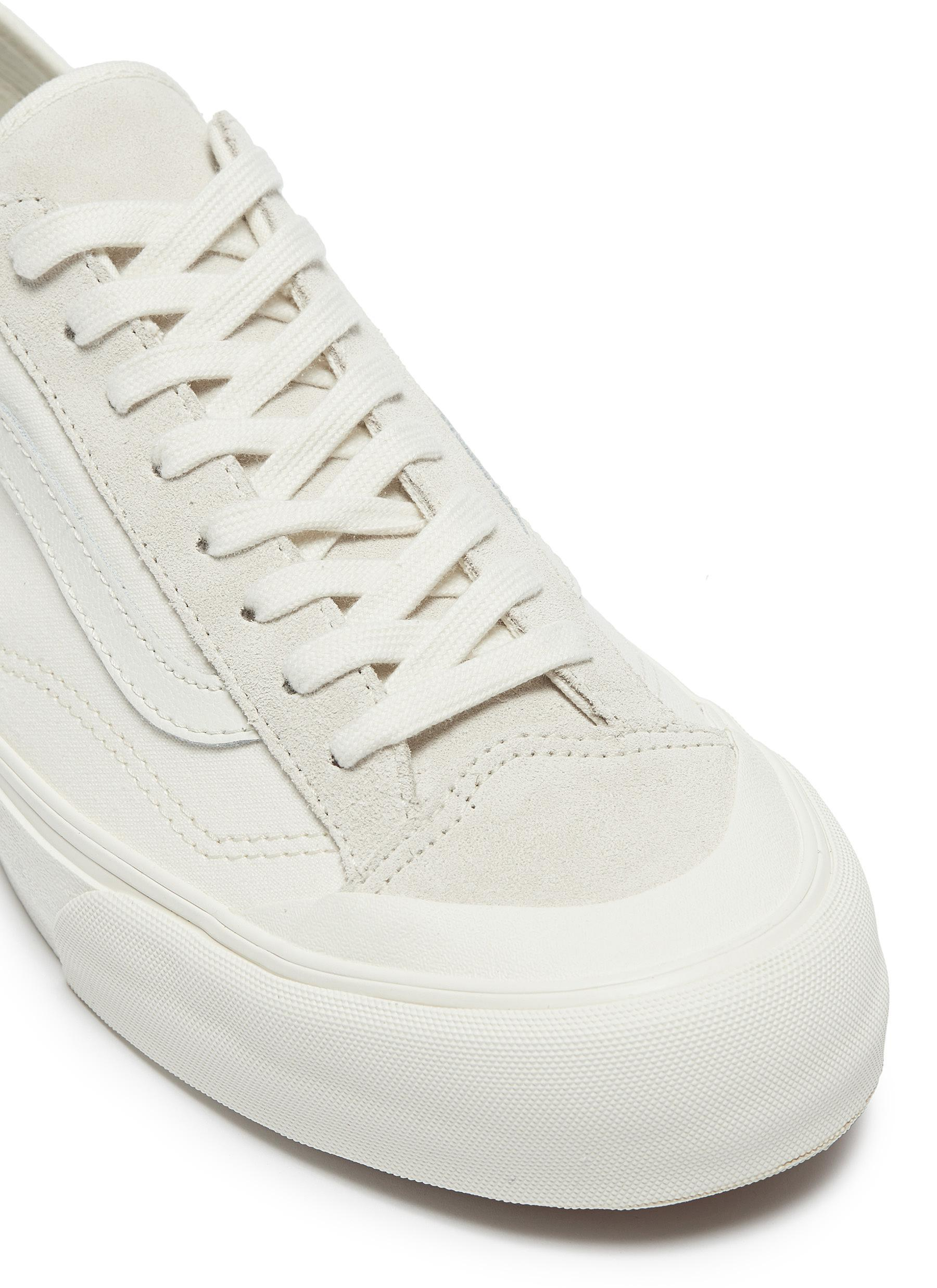 c01125f4e46 Canvas  style White For Lyst Men Vans In 36 Sf  Decon Sneakers X8w7qw5