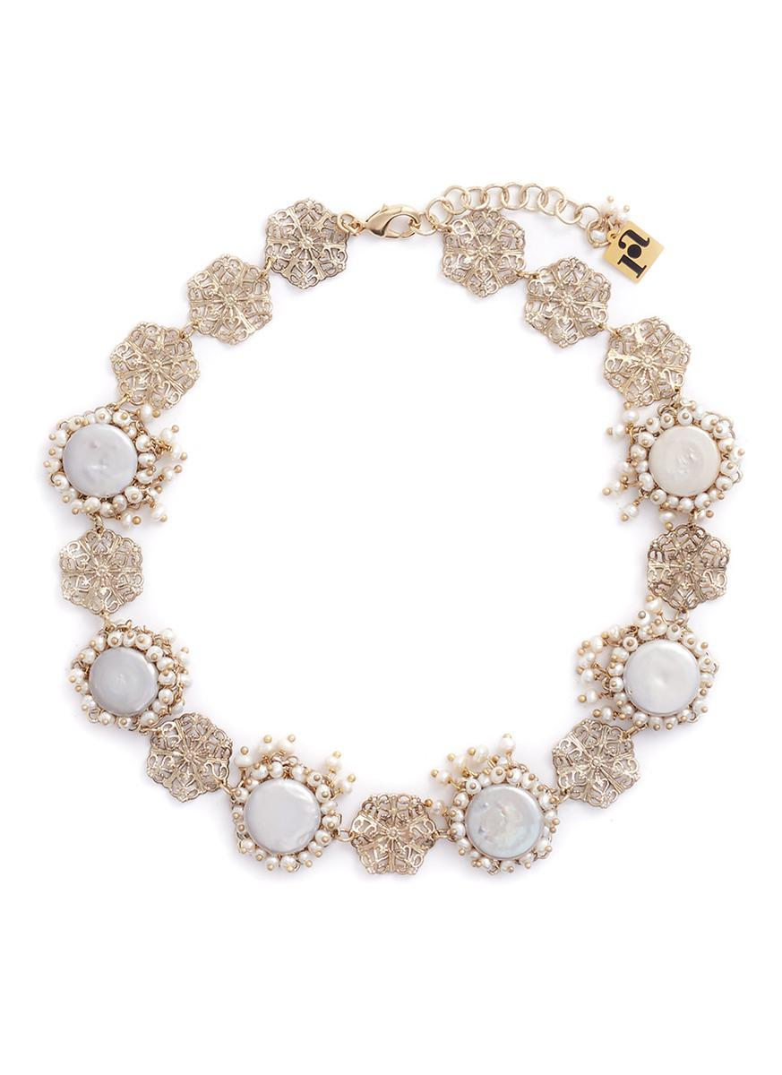 Corte beaded necklace Rosantica bhRKvIG6u