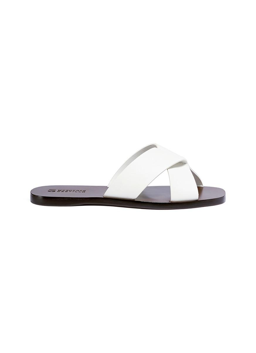 MERCEDES CASTILLO Amelea Leather Sandal R1O3h4kcUX
