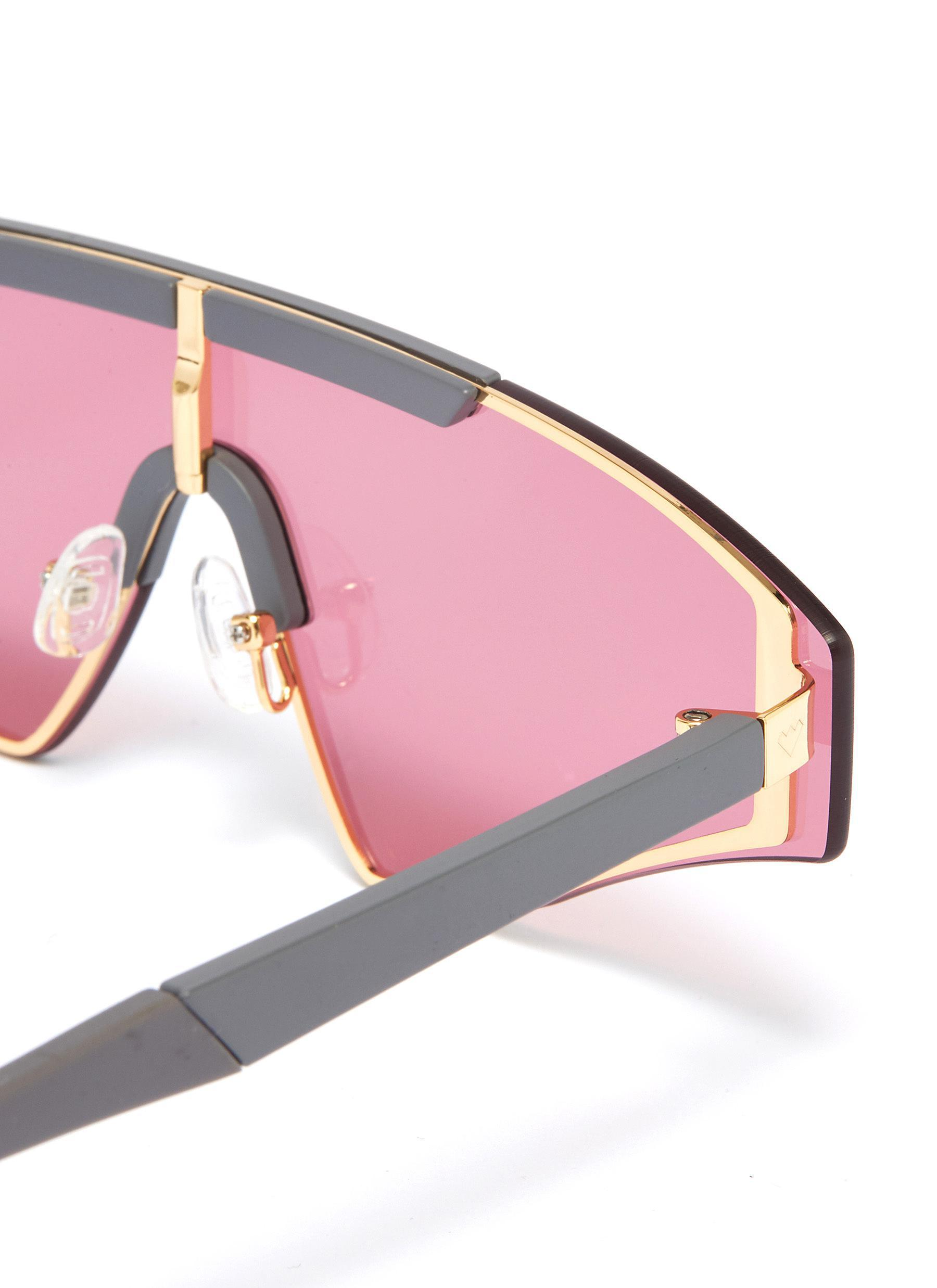 9e4ed68bc Spektre - Pink 'vincent' Acetate Aviator Sunglasses - Lyst. View fullscreen