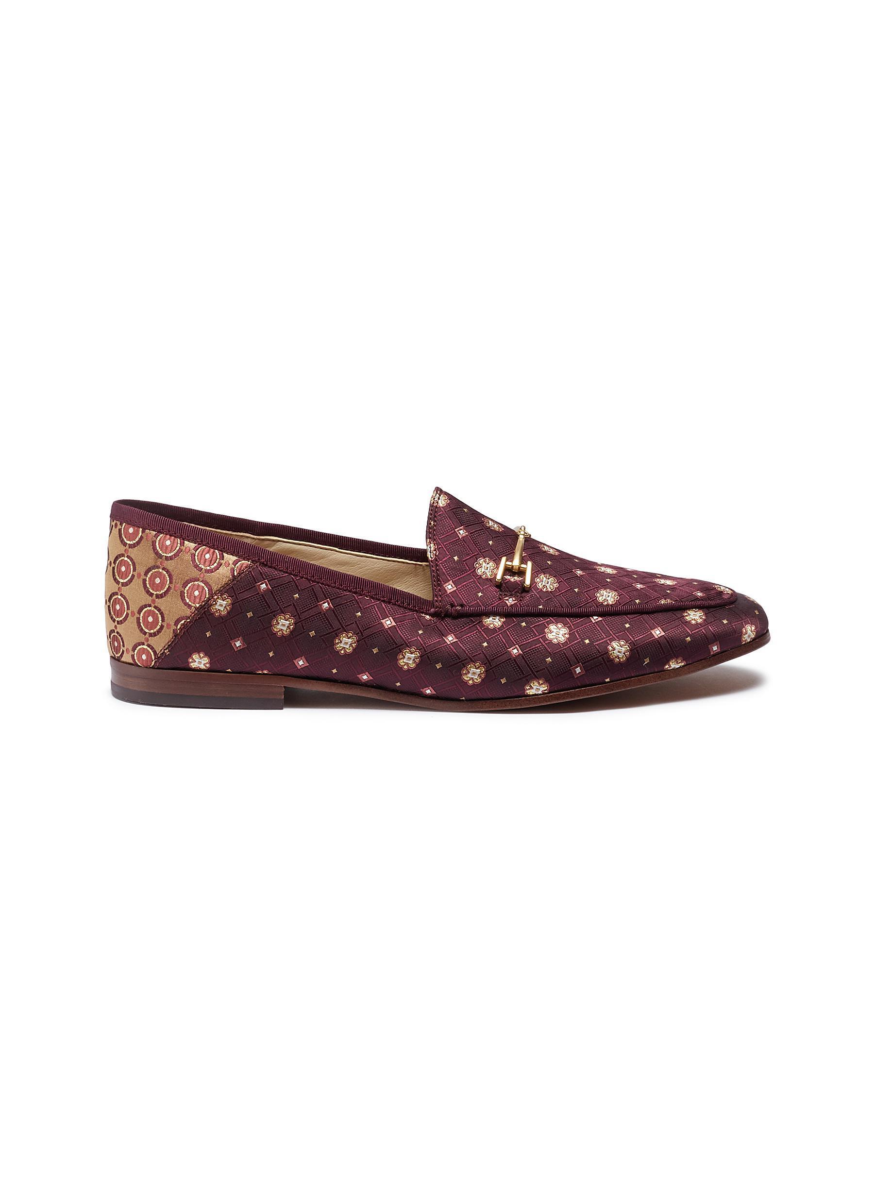 20e1d336235f Sam Edelman. Women s  loraine  Horsebit Geometric Jacquard Step-in Loafers