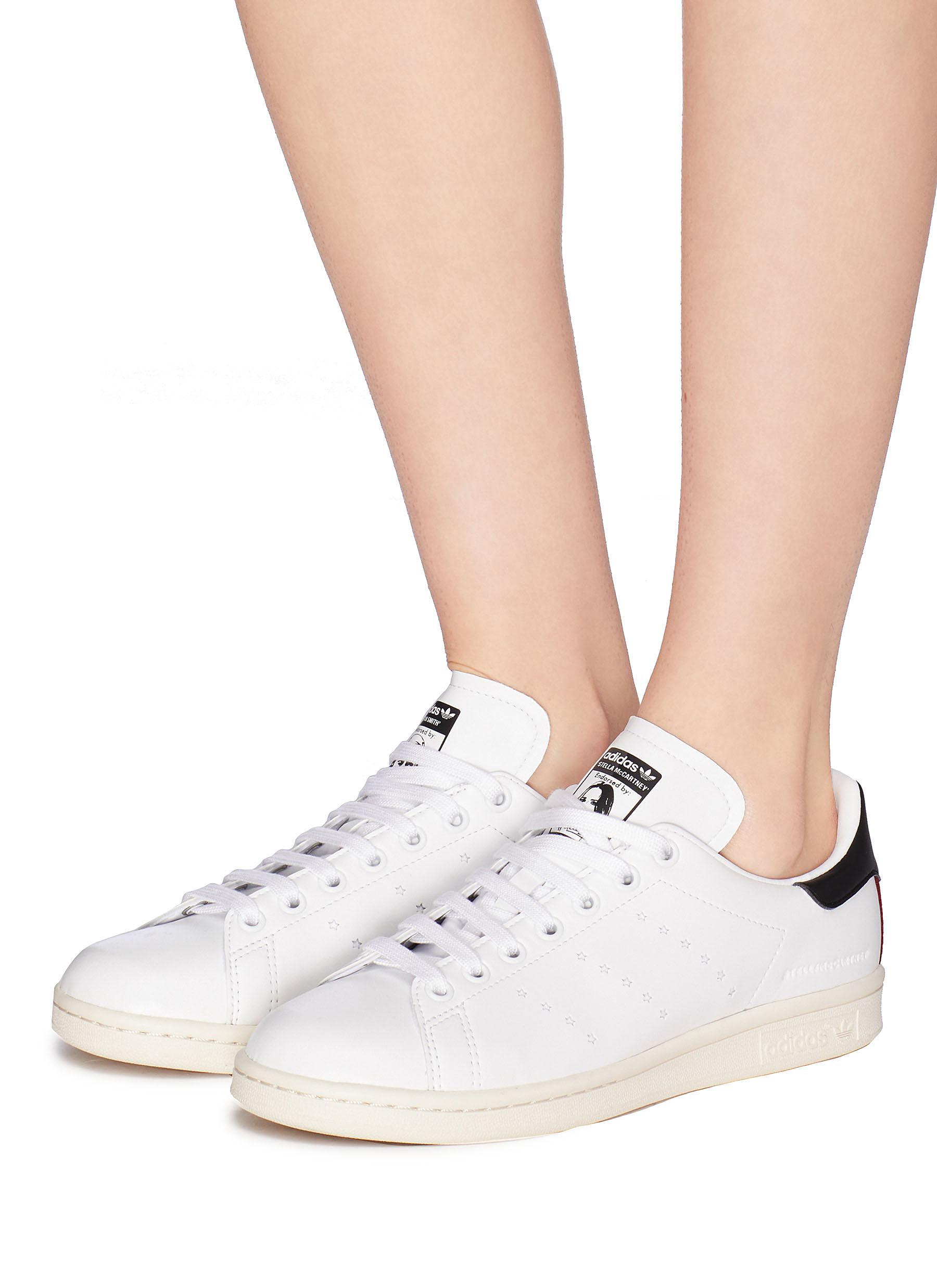 1e7bbbed20dc Stella McCartney X Adidas  stan Smith  Faux Leather Sneakers in ...