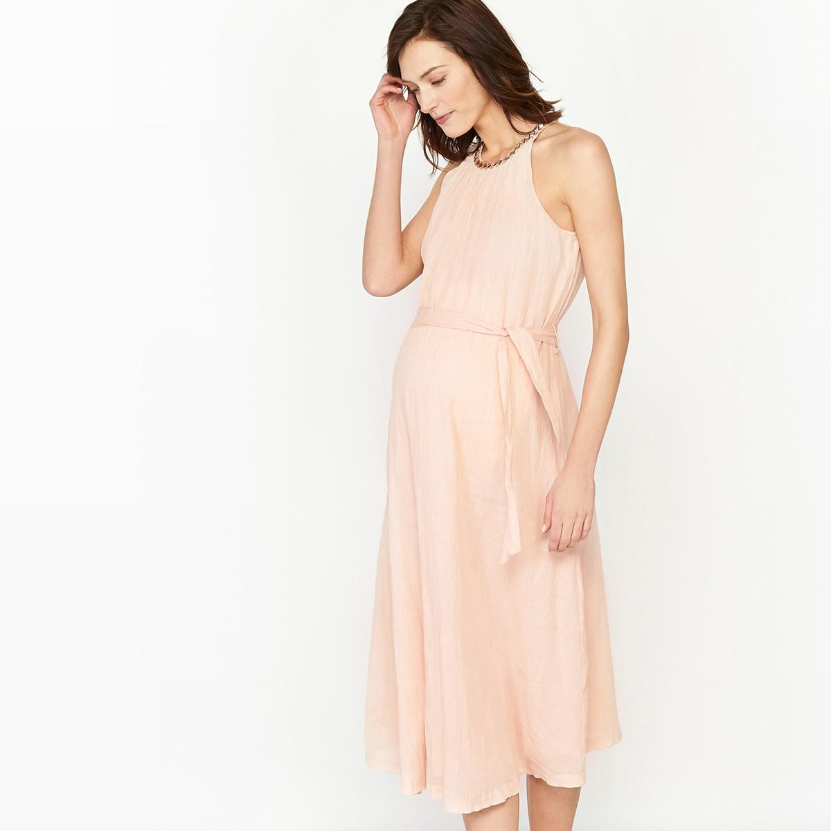 181bbb219f2a1 La Redoute Maternity Party Dress With Sparkly Details in Pink - Lyst