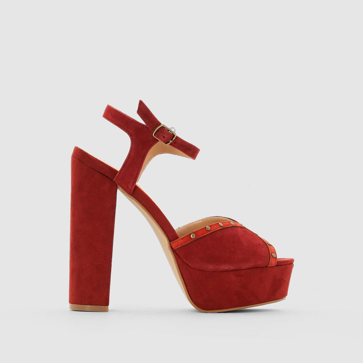 La Redoute Collections High-Heeled Platform Sandals with credit card online cheap price outlet sale Cheapest online outlet Cheapest clearance footlocker pictures x6kfF