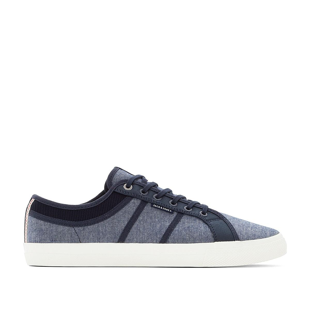 JACK & JONES JFW Ross Canvas Lace-Up Trainers