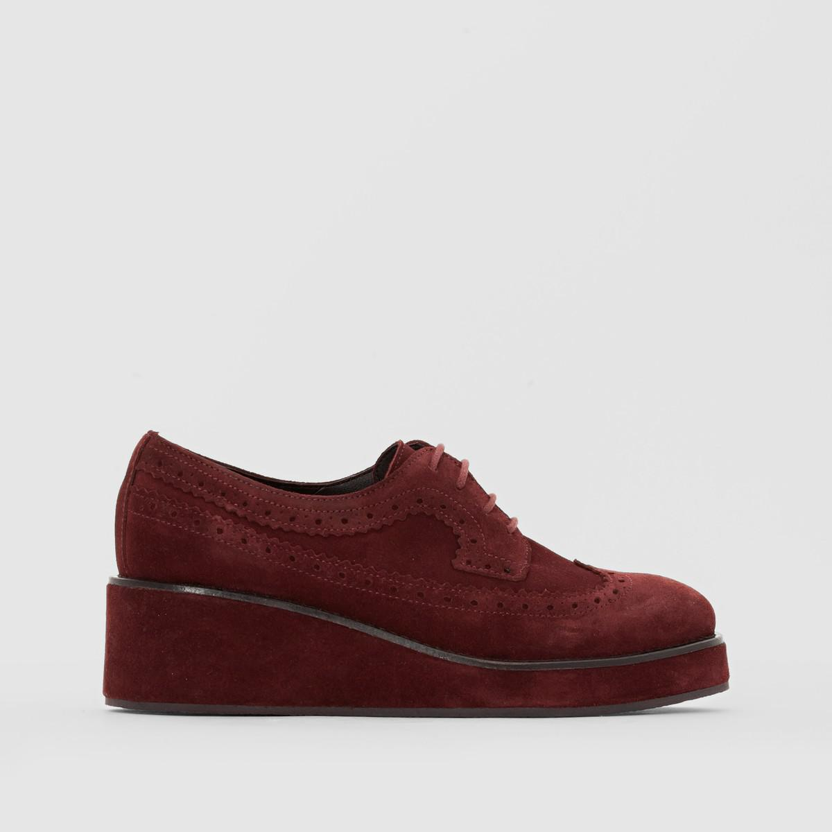 La Redoute Collections Suede Lace-Up Brogues clearance online ebay ELTyjj5