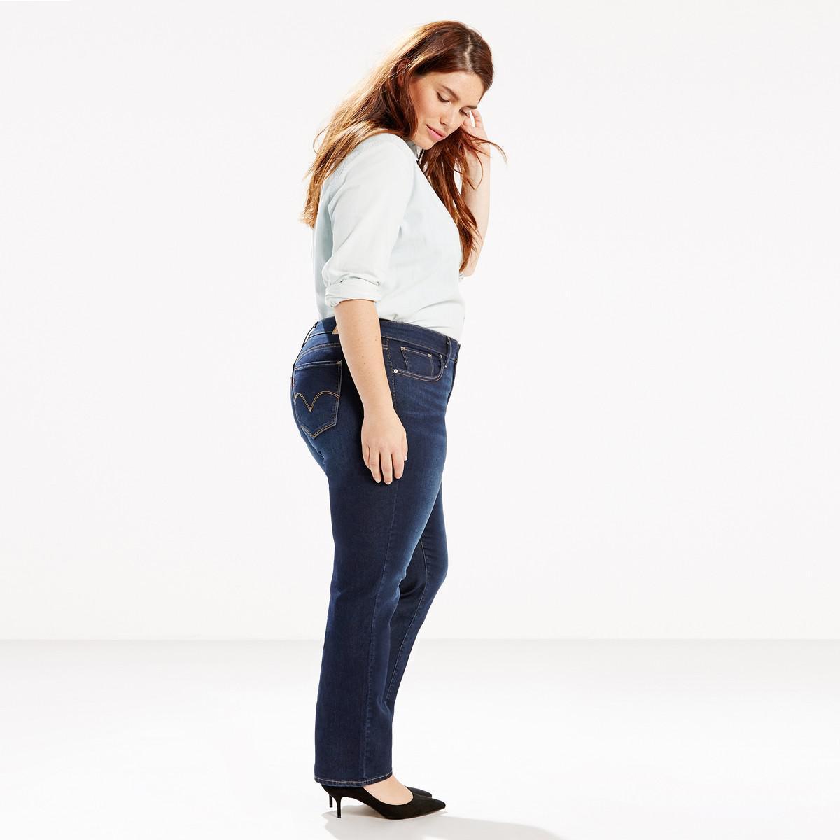 3f71c52b988 Levi s - Blue Plus 314 Shaping Straight Jeans