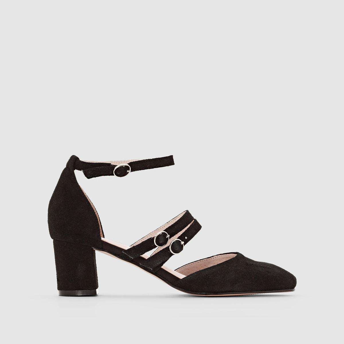 low cost sale online cheap sale release dates La Redoute Collections Leather Multi-Strap Ballet Pumps free shipping brand new unisex collections cheap online goTSk8