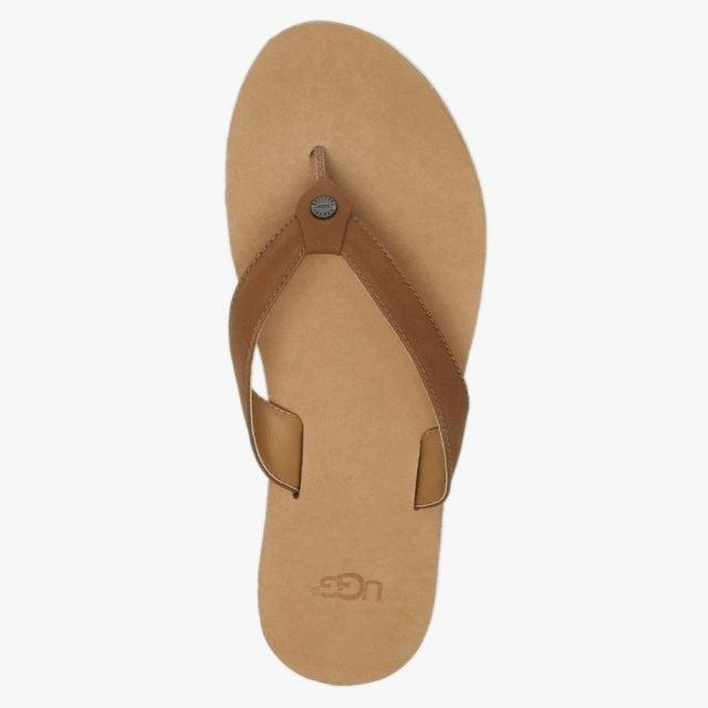 22d15e99c24233 Ugg - Brown Women s Tawney Flip Flop - Lyst. View fullscreen
