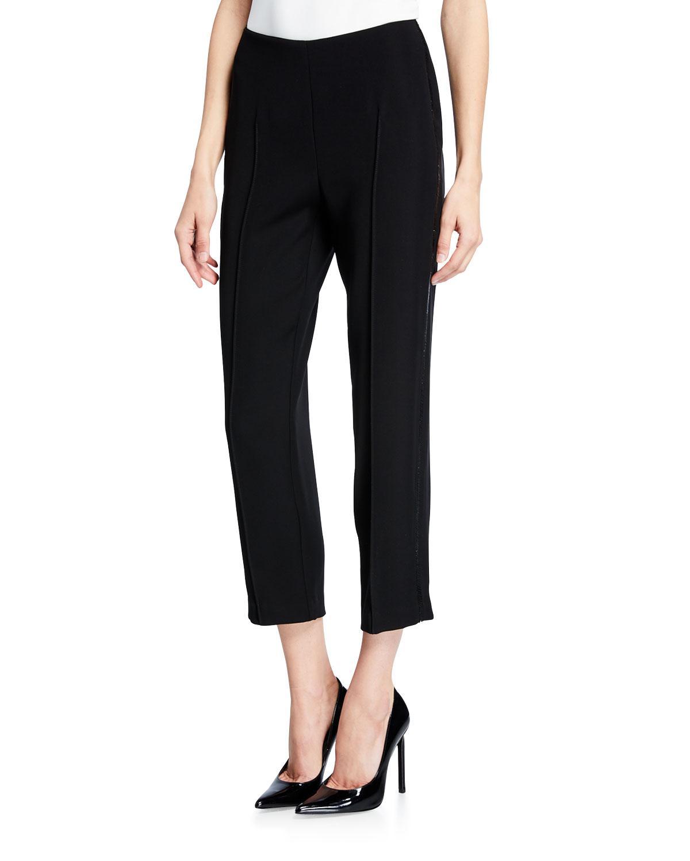 2c97a6552aad8 Drew - Black Isabella Beaded Cropped Pants - Lyst. View fullscreen