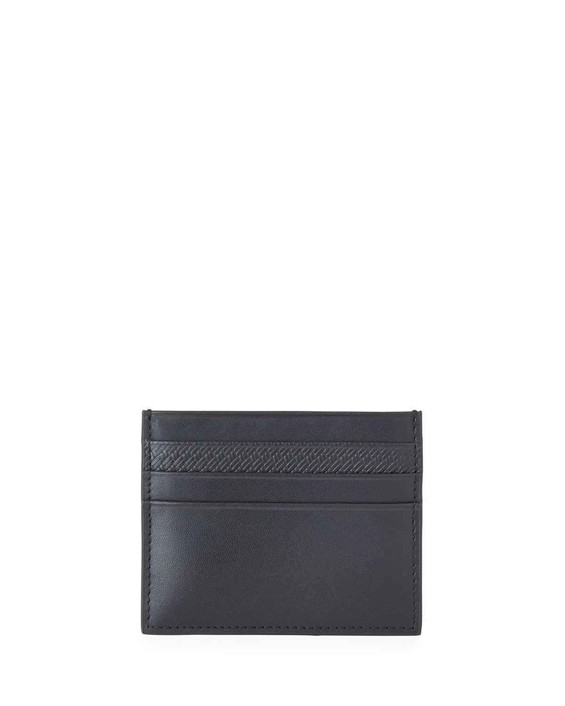 4214b71df1ee Lyst - Neiman Marcus Men s Leather Card Case in Black for Men