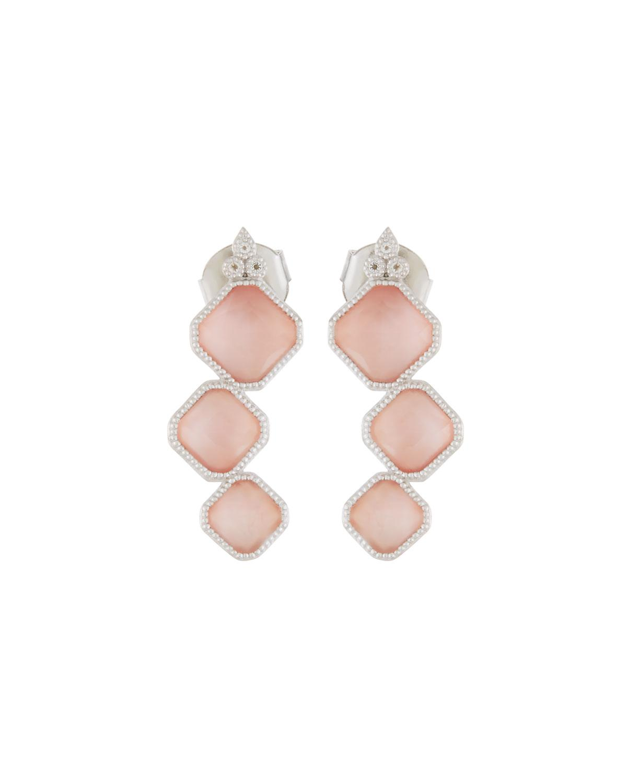 Jude Frances Encore Sterling Silver Amazonite Dangle/Drop Earrings AKI0W5qHyA