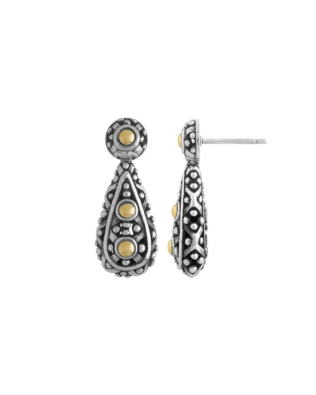 John Hardy Jaisalmer Round Twirl Earrings 8gWrN41