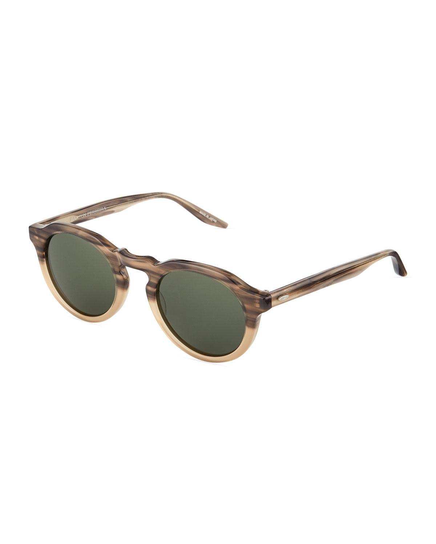 5edd310c9821 Barton Perreira. Women s Ascot Round Acetate Sunglasses