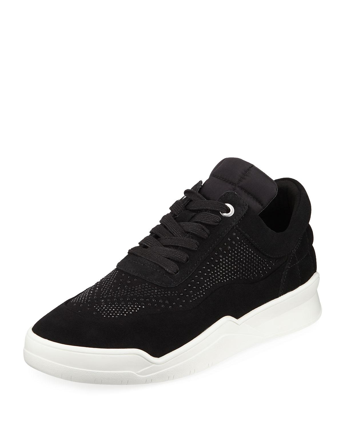 Karl Lagerfeld Men's Mid-Top Sneaker