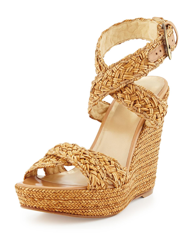 Stuart Weitzman Silver Theone Sandals Size US 6.5 Regular